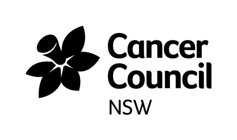 Cancer Council NSW mono logo